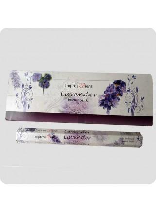 Impressions hexa røgelse - Lavendel