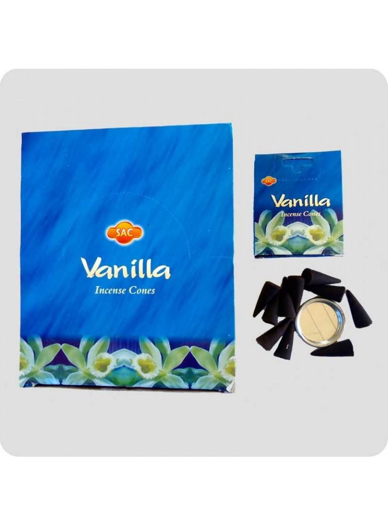 SAC incense cones vanilla