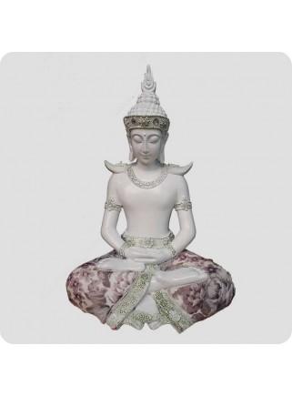 Buddha hvid 28 cm Visdom