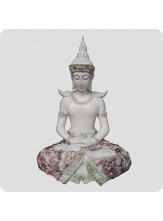 Buddha white 28 cm Wisdom