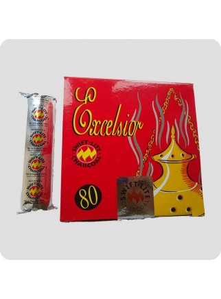 Charcoal-tablets for resin incense