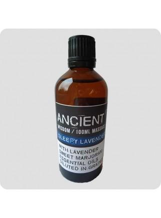 Massage oil Sleepy Lavender 100 ml