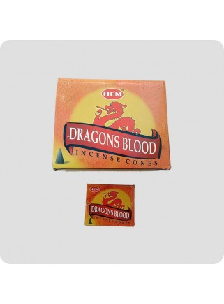 HEM røgelsestoppe 12-pack dragon blood