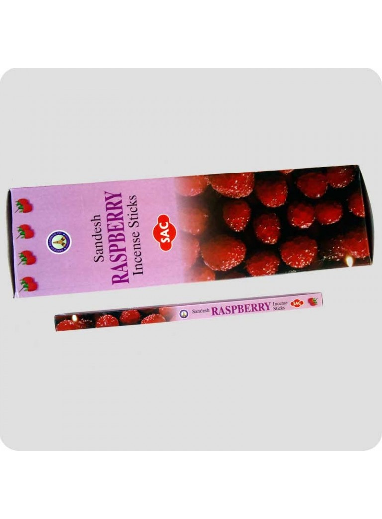 SAC incense raspberry
