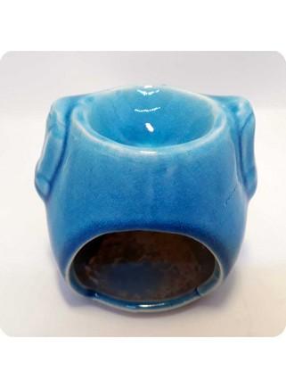 Aromalampe blå ugle