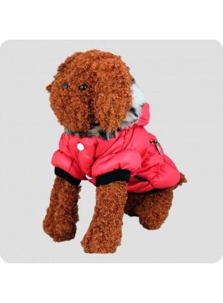 Jacket red 2 legs L