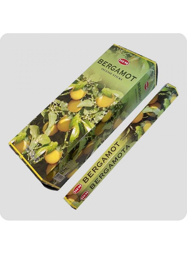HEM hexa røgelse 6-pack - Bergamotte