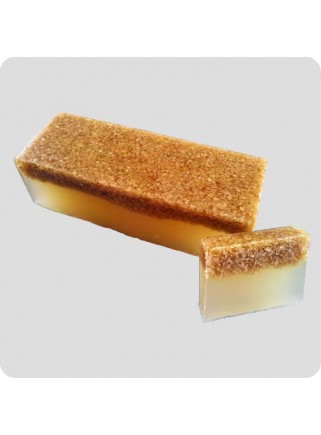 Hand made soap - honey and oatmeal appr. 90g