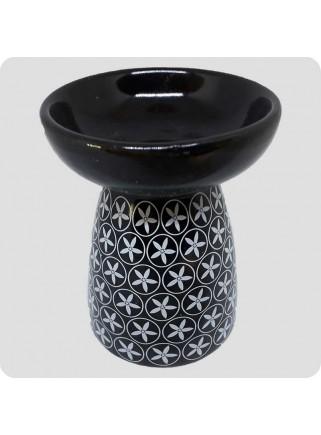 Aromalampe sort keramik...