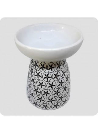 Aromalampe hvid keramik...