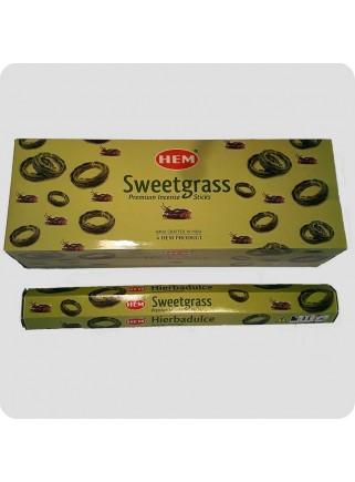 HEM hexa røgelse - Sweetgrass
