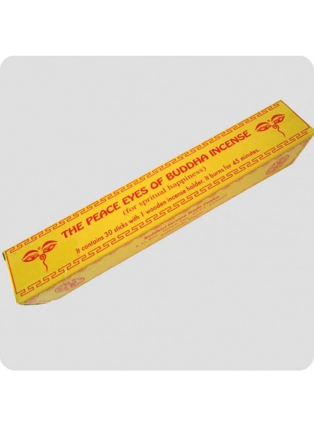 Peace Eyes of Buddha tibetan incense