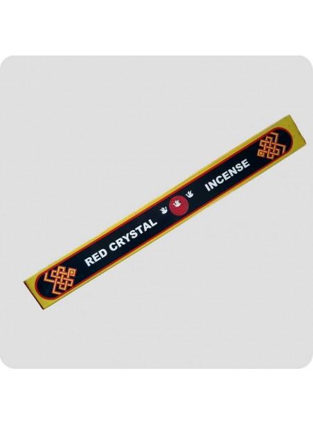 Red Crystal tibetan incense