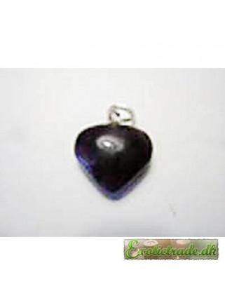 Pendant amethyst heart