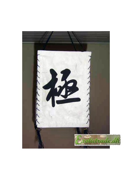 Tibetansk lanterne - kinesisk skrifttegn