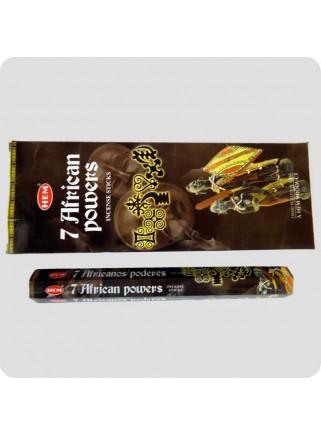 HEM hexa røgelse 6-pack - 7 African Powers
