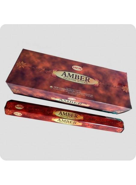 HEM hexa røgelse 6-pack - Amber