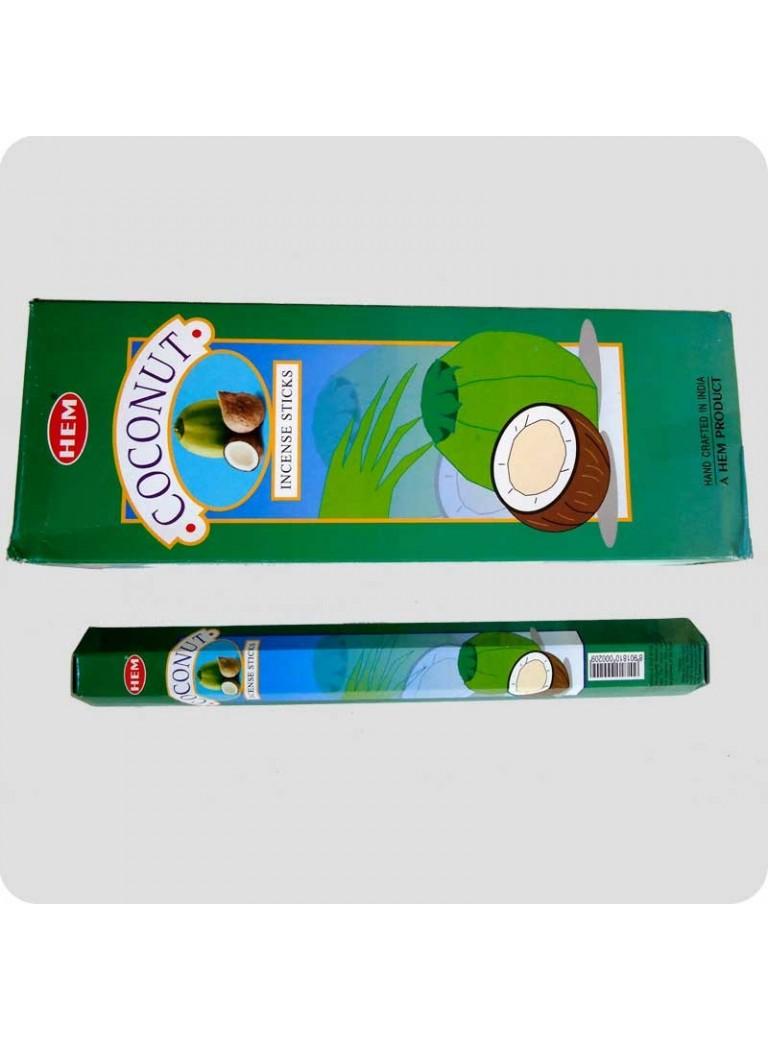 HEM hexa røgelse 6-pack - Coconut