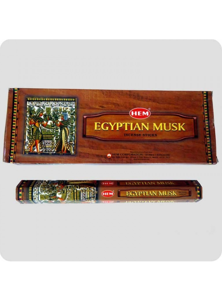 HEM hexa røgelse 6-pack - Egyptian Musk