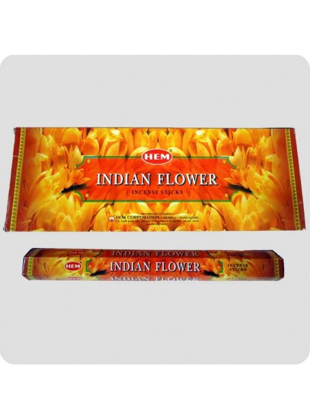 HEM hexa røgelse 6-pack - Indian Flowers (indiske blomster)