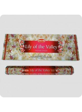 HEM hexa røgelse 6-pack - Lily of the Valley (liljekonval)