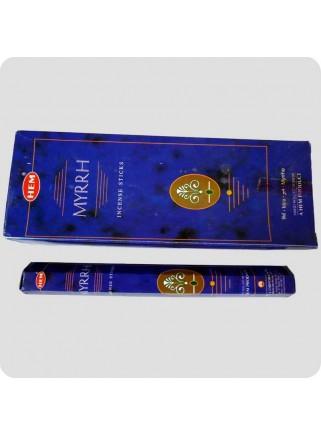 HEM hexa røgelse 6-pack - Myrrh