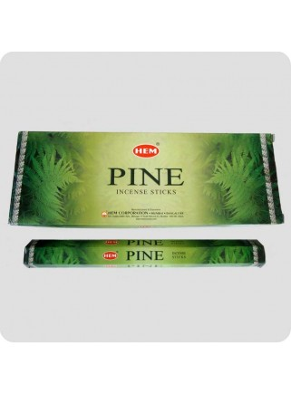 HEM hexa røgelse 6-pack - Pine (fyrrenåle)