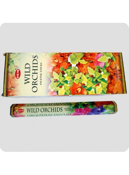 HEM hexa incense 6-pack - Wild Orchids