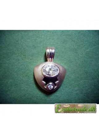 Pendant silver F