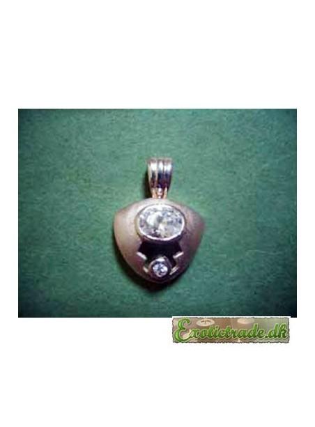 Halskædevedhæng sølv F