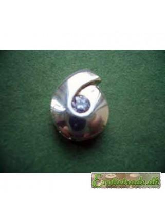 Halskædevedhæng sølv P