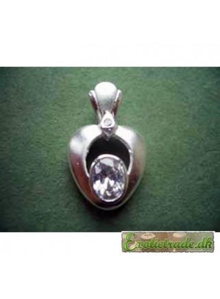 Halskædevedhæng sølv R