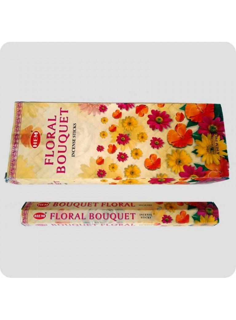 HEM hexa røgelse - Floral Bouquet (blomsterduft)