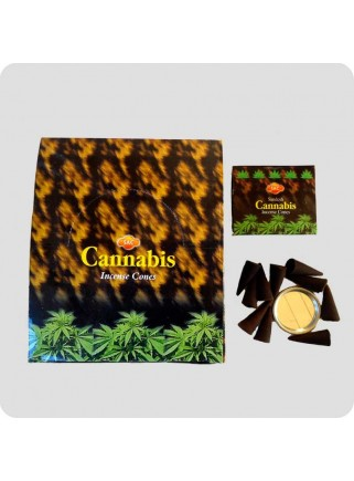 SAC røgelsestoppe 12-pack - cannabis