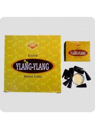 SAC incense cones 12-pack - ylang ylang