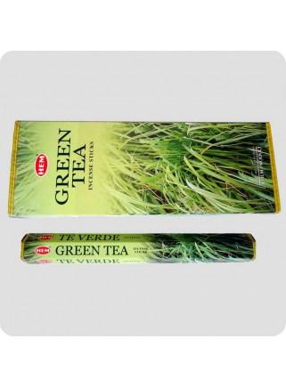 HEM hexa røgelse - Green Tea (grøn te)
