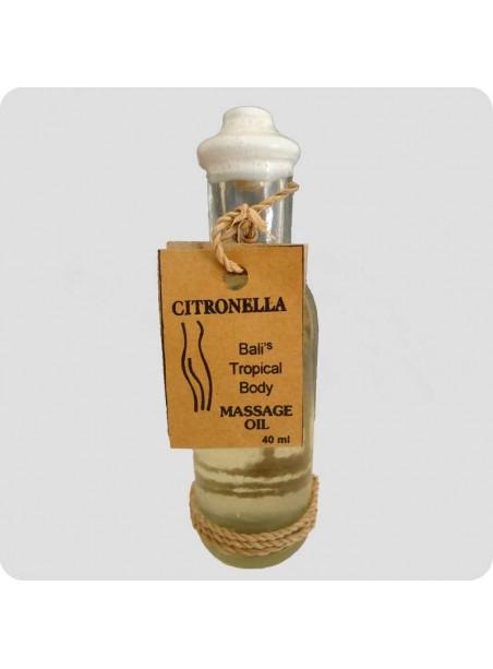 Massage oil citronella 40 ml