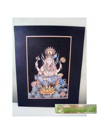 Painting Ganesha