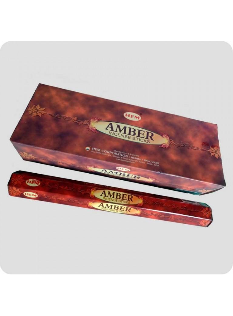HEM hexa røgelse - Amber