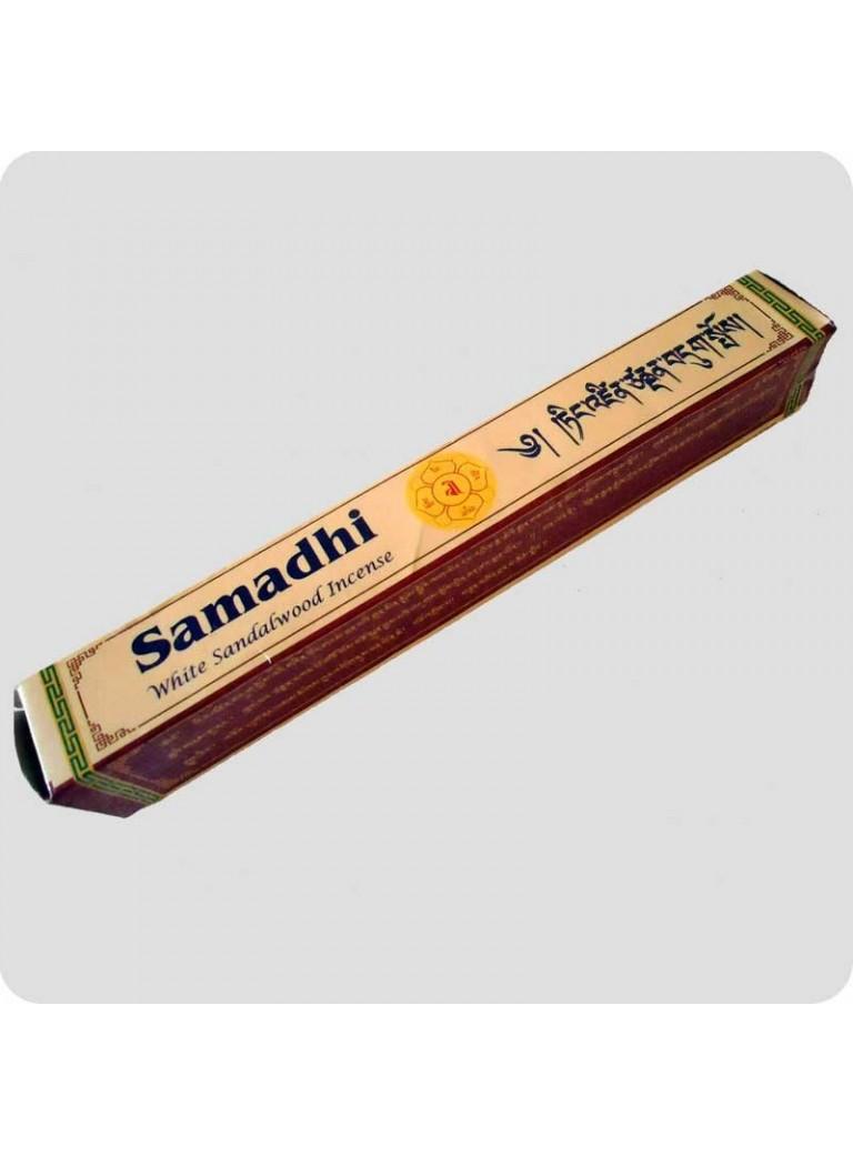 Samadhi white sandalwood incense