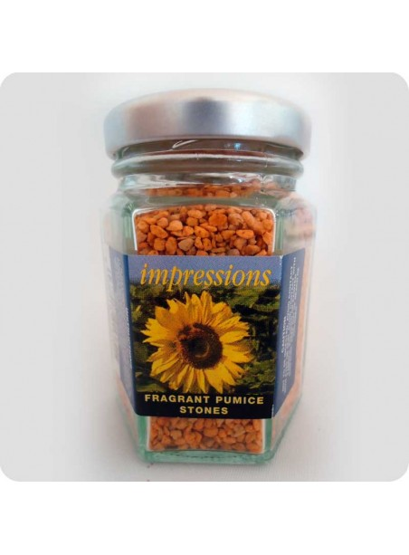 Scented pumice refreshing