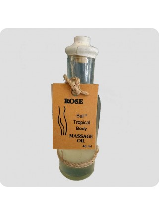Massageolie rose 40 ml