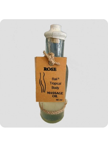 Massage oil rose 40 ml