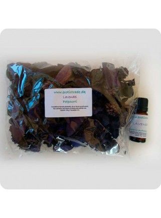 Potpourri Exotictrade lavender + olie
