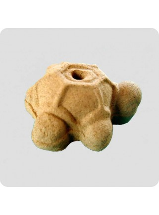 Incenseholder turtle brown