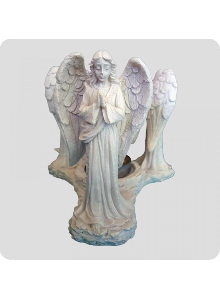 Oil burner white 3 different angels