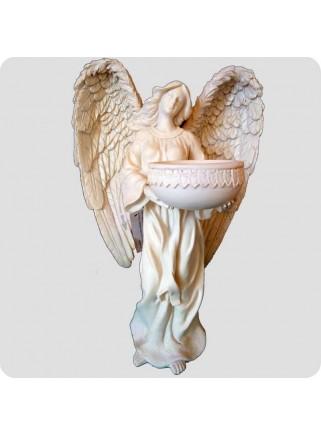 Angel 23cm wíth tealight holder