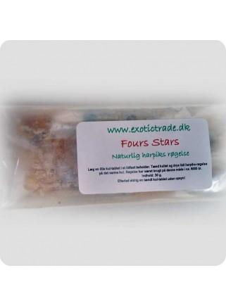 Resin incense - Four Stars