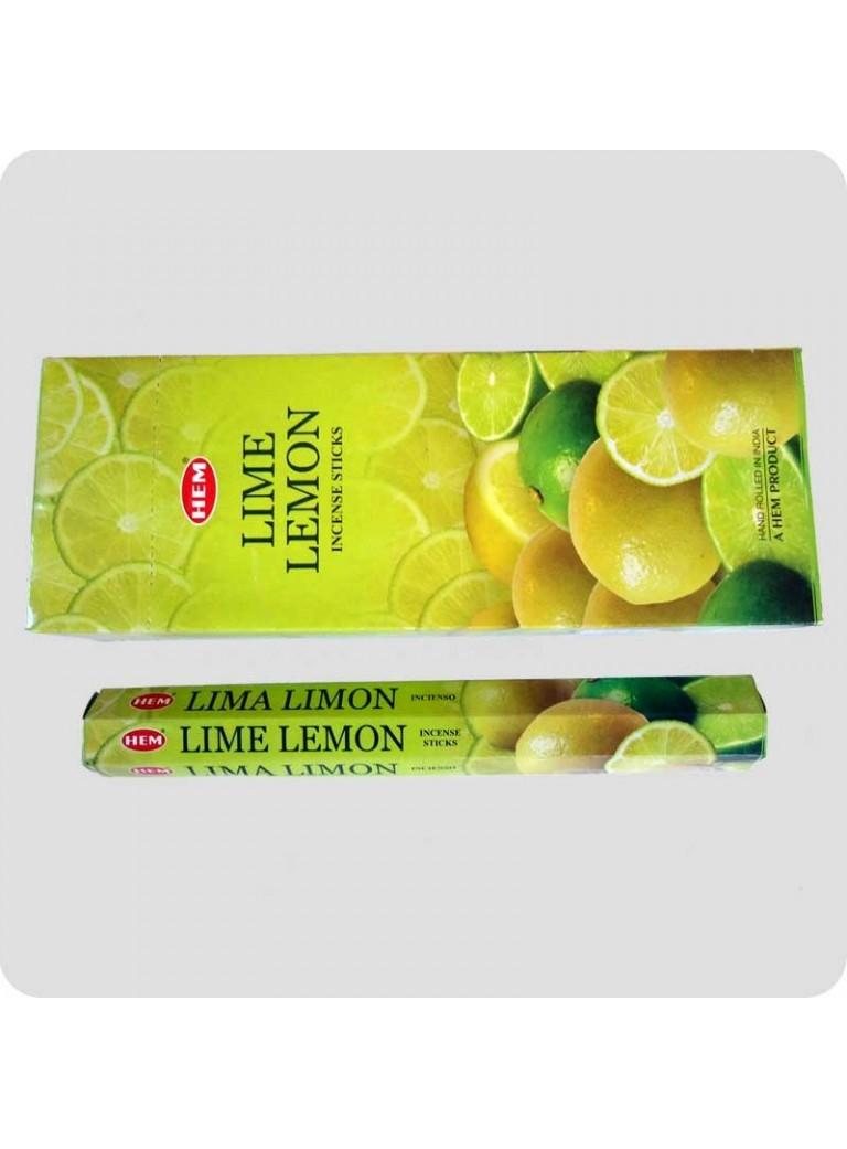 HEM hexa røgelse - Lime-Lemon