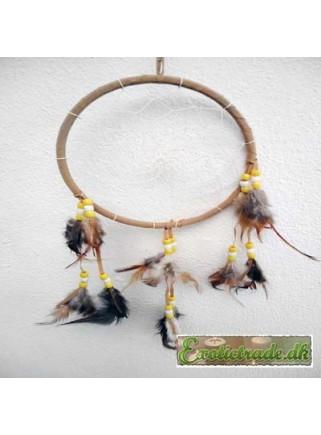Drømmefanger 16 cm lys brun 1 ring